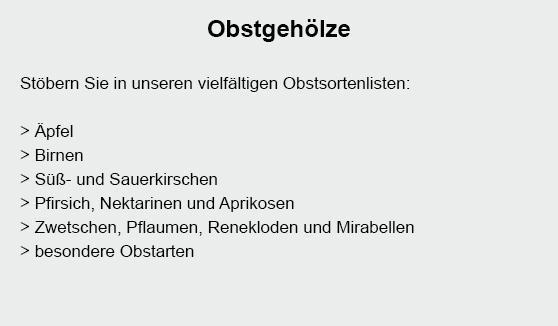 Obstbäume für  Königsbach-Stein